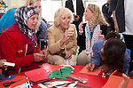 """PRINCE CHARLES AND CAMIILA, DUCHESS OF CORNWALL.visit the King Abdullah Camp for refugees from Syria, Jordan_13/03/2013.The Royal couple are on a tour of four Middle Eastern countries..Mandatory credit photo:©DiasImages/NEWSPIX INTERNATIONAL..**ALL FEES PAYABLE TO: """"NEWSPIX INTERNATIONAL""""**..PHOTO CREDIT MANDATORY!!: NEWSPIX INTERNATIONAL(Failure to credit will incur a surcharge of 100% of reproduction fees)..IMMEDIATE CONFIRMATION OF USAGE REQUIRED:.Newspix International, 31 Chinnery Hill, Bishop's Stortford, ENGLAND CM23 3PS.Tel:+441279 324672  ; Fax: +441279656877.Mobile:  0777568 1153.e-mail: info@newspixinternational.co.uk"""