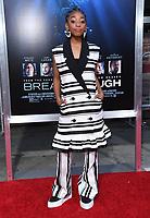 """11 April 2019 - Westwood, California - Eris Baker. """"Breakthrough"""" Los Angeles Premiere held at Regency Village Theater. Photo Credit: Birdie Thompson/AdMedia"""