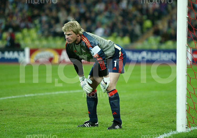 FUSSBALL Champions League 2003/2004  Gruppe A FC Bayern Muenchen 2-1 Celtic Glasgow Oliver Kahn (FCB)