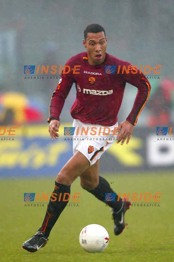 Roma 18/1/2004<br /> Roma Sampdoria 3-1<br /> John Carew (Roma)<br /> Foto Andrea Staccioli Insidefoto