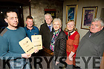 IFA  presidential election, Camp district  at Ashes Bar on Tuesday Pictured Returning Officer Tommy Culloty with Thomas Griffin, sec Camp, Dan Mallony, Ann Mallony, Bridget O'Connor, Camp Chairperson, Pat O'Shea, Munster Treasuer IFA,