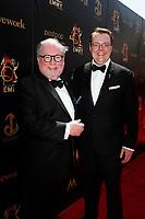 PASADENA - May 5: Terry O'Reilly, Adam Sharp at the 46th Daytime Emmy Awards Gala at the Pasadena Civic Center on May 5, 2019 in Pasadena, California