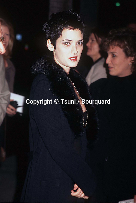 Winona Ryder arriving at the premiere of the Crucible in Los Angeles. November 20, 1996.           -            RyderWinona_Crucible_1b.jpg