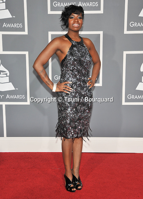 Fantasia-<br /> 51th Grammy Awards  2009 at the Staples center In Los Angeles.