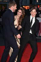 "Michael Smiley and Cillian Murphy<br /> at the London Film Festival 2016 premiere of ""Free Fire at the Odeon Leicester Square, London.<br /> <br /> <br /> ©Ash Knotek  D3182  16/10/2016"