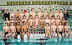 12-7-15, Huron High School boy's swimming and diving team
