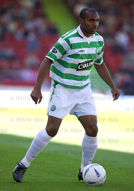 Didier Agathe, Celtic.stock season 2004-2005.pic willie vass