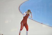 SCHAATSEN: HEERENVEEN: 29-12-2013, IJsstadion Thialf, KNSB Kwalificatie Toernooi (KKT), 1500m, Marije Joling, ©foto Martin de Jong