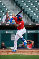 Buffalo Bisons Anthony Alford (26) during an International League game against the Indianapolis Indians on June 20, 2019 at Sahlen Field in Buffalo, New York.  Buffalo defeated Indianapolis 11-8  (Mike Janes/Four Seam Images)
