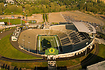 Aerial View of Autzen Stadium, Eugene, Oregon