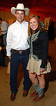 Callaway Aimone and Kelly VanderPloeg at the American Cancer Society's Cattle Baron's Ball at the George Ranch Saturday April 26,2008. (Dave Rossman/For the Chronicle)