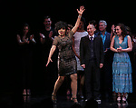 Sheryl Lee Ralph and cast during the curtain Call bows for the Actors Fund's 15th Anniversary Reunion Concert of 'Thoroughly Modern Millie' on February 18, 2018 at the Minskoff Theatre in New York City.