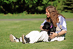 Jayne & Labrador Puppy