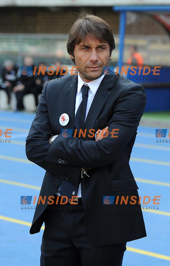 "Antonio CONTE (Juventus).Verona 16/10/2011 Stadio ""Marcantonio Bentegodi"".Serie A 2011/2012.Football Calcio Chievo Verona Vs Juventus.Foto Insidefoto Alessandro Sabattini."