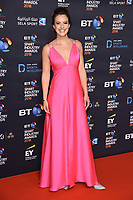 Charlie Webster<br /> arriving for the BT Sport Industry Awards 2018 at the Battersea Evolution, London<br /> <br /> ©Ash Knotek  D3399  26/04/2018
