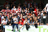 Woking fans during Woking vs Welling United, Vanarama National League South Promotion Play-Off Final Football at The Laithwaite Community Stadium on 12th May 2019