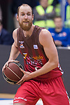 San Pablo Burgos Thomas Schreiner during Liga Endesa match between San Pablo Burgos and Gipuzkoa Basket at Coliseum Burgos in Burgos, Spain. December 30, 2017. (ALTERPHOTOS/Borja B.Hojas)
