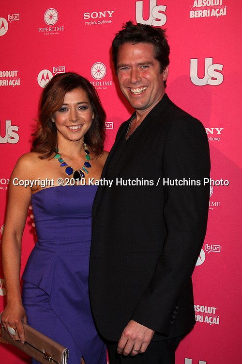 Alyson Hannigan & Alexis Denisof.arrives at the US Weekly Hot Hollywood Party 2010.Drai's at the W Hotel Hollywood.Los Angeles, CA.April 22, 2010.©2010 Kathy Hutchins / Hutchins Photo...