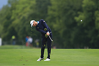 Jens Dantorp (SWE) on the 5th fairway during Round 3 of the D+D Real Czech Masters at the Albatross Golf Resort, Prague, Czech Rep. 02/09/2017<br /> Picture: Golffile | Thos Caffrey<br /> <br /> <br /> All photo usage must carry mandatory copyright credit     (&copy; Golffile | Thos Caffrey)