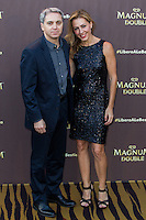 Vicente Valles and Angeles Blanco during the launch party for the new range of Magnum ice cream at  ME Hotel Reina Victoria. Jun 15,2016. (ALTERPHOTOS/Rodrigo Jimenez) /NortePhoto.com