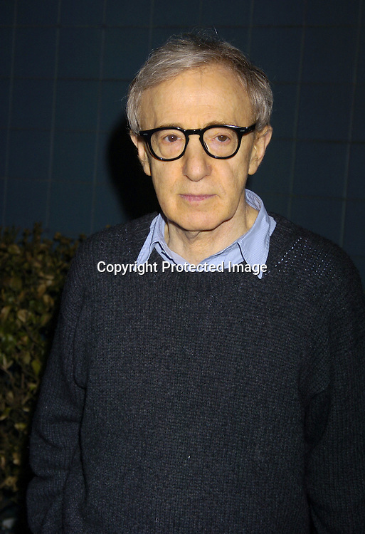 """Woody Allen ..at Director Woody Allen's  """"Melinda and Melinda"""" New York special screening on March 16, 2005 at the Chelsea West Cinemas. ..Photo by Robin Platzer, Twin Images"""