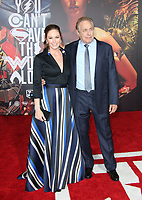 LOS ANGELES, CA - NOVEMBER 13: Diane Lane, Charles Roven, at the Justice League film Premiere on November 13, 2017 at the Dolby Theatre in Los Angeles, California. Credit: Faye Sadou/MediaPunch /NortePhoto.com