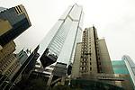 Hong Kong - Grattacieli a Wanchai.