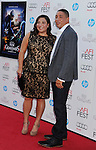 HOLLYWOOD, CA - NOVEMBER 04: Jo Frost and Darrin Jackson arrive at the premiere of 'Rise of the Guardians' during the 2012 AFI Fest presented by Audi at Grauman's Chinese Theatre on November 4, 2012 in Hollywood, California.