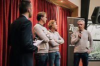 Roompot&ndash;Charles Cycling Team sports directors: Erik Breukink,  Michael Boogerd &amp;  Jean-Paul van Poppel<br /> <br /> <br /> Team presentation <br /> The Netherlands / nov 2018