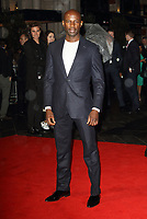 David Gyasi at the BFI London Film Festival - Film Stars Don't Die In Liverpool - The Mayfair Hotel Gala, Odeon Leicester Square, London on October 11th 2017<br /> CAP/ROS<br /> &copy; Steve Ross/Capital Pictures