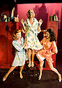 Sweet Charity.Book by Neil Simon,Music by Cy Coleman,Lyrics by Dorothy Fields,directed by Matthew White.With Tiffany Graves as Helene, Tamzin Outhwaite as Charity Hope Valentine, Josefina Gabrielle as Nickie. Opens at The Menier Chocolate Theatre on 2/12/09.  Credit Geraint Lewis