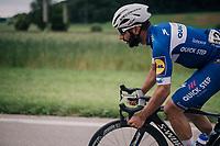Fernando Gaviria (COL/Quick-Step Floors)<br /> <br /> Stage 4: Gansingen > Gstaad (189km)<br /> 82nd Tour de Suisse 2018 (2.UWT)