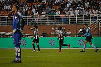 SÃO PAULO, SP 06.06.2019: SANTOS-ATLÉTICO-MG - Chará comemora gol. Santos e Atlético-MG durante partida de volta válida pelas oitavas de final da Copa do Brasil, no estádio Paulo Machado de Carvalho, o Pacaembu, zona oeste da capital, na noite desta quinta-feira (06). (Foto: Ale Frata/Codigo19)