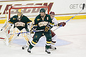 Rob Madore (Vermont - 29), Kevan Miller (Vermont - 15), Paul Carey (BC - 22) - The Boston College Eagles defeated the visiting University of Vermont Catamounts 6-0 on Sunday, November 28, 2010, at Conte Forum in Chestnut Hill, Massachusetts.