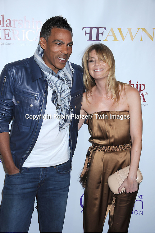 Ellen Pompeo and husband Chris Ivery attending The 2nd Annual Mary J Blige Honors Concert to Benefit FFAWN's Scholarship Fund hosted by Mary J Blige and Robbie Myers on May 1, 2011 at Hammerstein Ballroom in New York City.