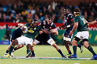 Tendai Mtawarira of South Africa and Yoann Maestri of France during the international test match between South Africa and France  at Loftus Versfeld Stadium on June 10, 2017 in Pretoria, South Africa. (Photo by SHSport /Icon Sport)