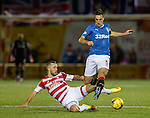 Dougie Imrie and Lee Wallace