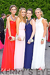 Students at a combined Killarney debs enjoying themselves at the Earl of Desmond Hotel on Thursday night left to right : Emily Treacy, Eimer O Connor, Erin Crowley, Leanne Pierce
