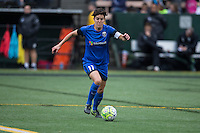 Seattle, Washington - Saturday May 14, 2016: Seattle Reign FC midfielder Keelin Winters (11) during the first half of a match at Memorial Stadium on Saturday May 14, 2016 in Seattle, Washington. The match ended in a 1-1 draw.