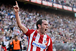 Atletico de Madrid's  Diego Godín during La Liga match between Atletico de Madrid and Sevilla CF at Vicente Calderon Stadium in Madrid, Spain. March 19, 2017. (ALTERPHOTOS/BorjaB.Hojas)