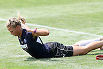 21 August 2009: LA's Christie Shaner. The Los Angeles Sol held a training session at the Home Depot Center in Carson, California one day before playing Sky Blue FC in the inaugural Women's Professional Soccer Championship Game.