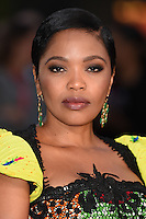 "Terry Pheto<br /> at the London Film Festival premiere for ""A United Kingdom"" at the Odeon Leicester Square, London.<br /> <br /> <br /> ©Ash Knotek  D3160  05/10/2016"