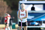 DURHAM, NC - NOVEMBER 11: Miami's Kendall Hunker. The Duke University Blue Devils hosted the Miami University (Ohio) Redhawks on November 11, 2017 at Jack Katz Stadium in Durham, NC in an NCAA Division I Field Hockey Tournament First Round game. Duke won the game 4-2.