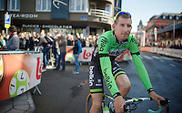 Bauke Mollema (NLD/Belkin) before the start<br /> <br /> La Flèche Wallonne 2014