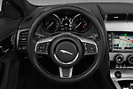 Car pictures of steering wheel view of a 2017 Jaguar F-TYPE - 2 Door Convertible Steering Wheel