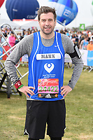 Mark Chapman<br /> at the start of the 2017 London Marathon on Blackheath Common, London. <br /> <br /> <br /> ©Ash Knotek  D3253  23/04/2017