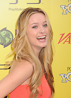 HOLLYWOOD, CA - OCTOBER 22: Greer Grammer arrives at Variety's 5th annual Power Of Youth event presented by The Hub at Paramount Studios on October 22, 2011 in Hollywood, California. /NortePhoto.com<br />