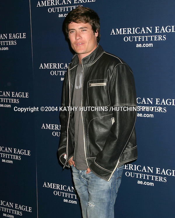 ©2004 KATHY HUTCHINS /HUTCHINS PHOTO.AMERICAN EAGLE OUTFITTERS PARTY.KICKOFF TO BACK TO SCHOOL.HOLLYWOOD, CA.AUGUST 24, 2004..ANDREW FIRESTONE