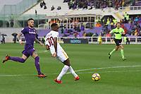 gol Gerson Goal <br /> Firenze 05-11-2017 Stadio Artemio Franchi Calcio Serie A 2017/2018 Fiorentina - AS Roma Foto Gino Mancini / Insidefoto