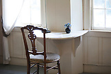 MASSACHUSETTS, Concord, Writing table of  Louisa May Alcott at the Orchard House